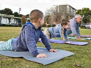 Yoga classes for kids getting them out and active
