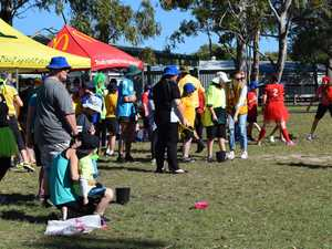 Athletics day: Hervey Bay Special School