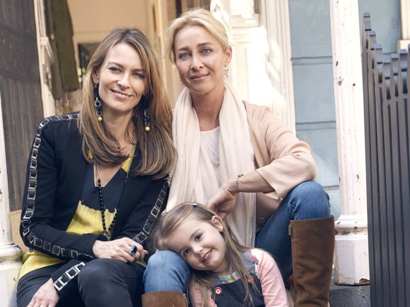 Kat Stewart and Asher Keddie star in season seven of Offspring.