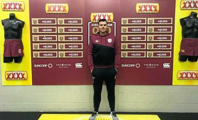 Ben Heidenreich will help the Queensland under-18 side.