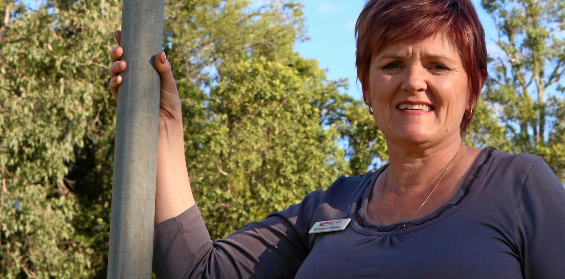 CUT OFF: Roadcraft chief executive officer Sharlene Makin has had a terrible experience with the NBN.