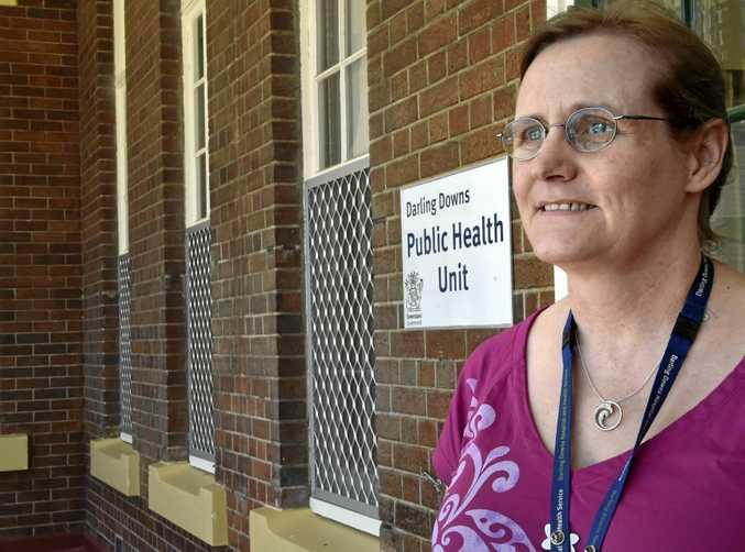 HEALTH RISK: Darling Downs Public Health Unit director Dr Penny Hutchinson has warned againt an outbreak of Shigella bacteria.
