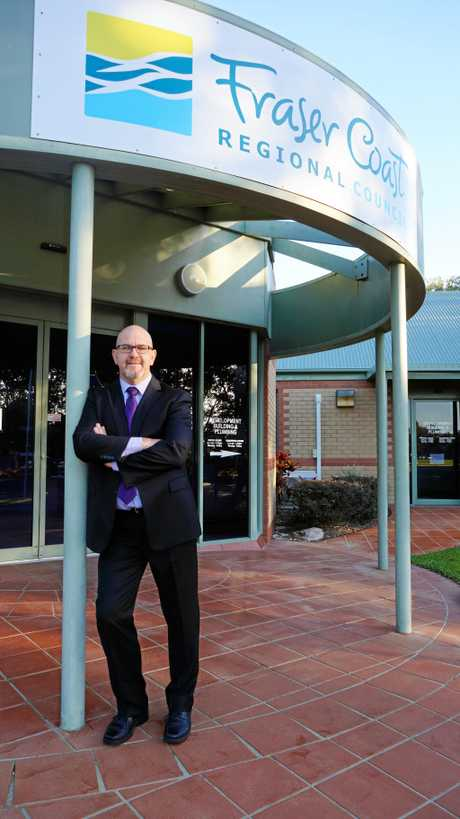 BIG PLANS: New CEO of the Fraser Coast Regional Council Ken Diehm has outlined big plans for transforming staff culture.