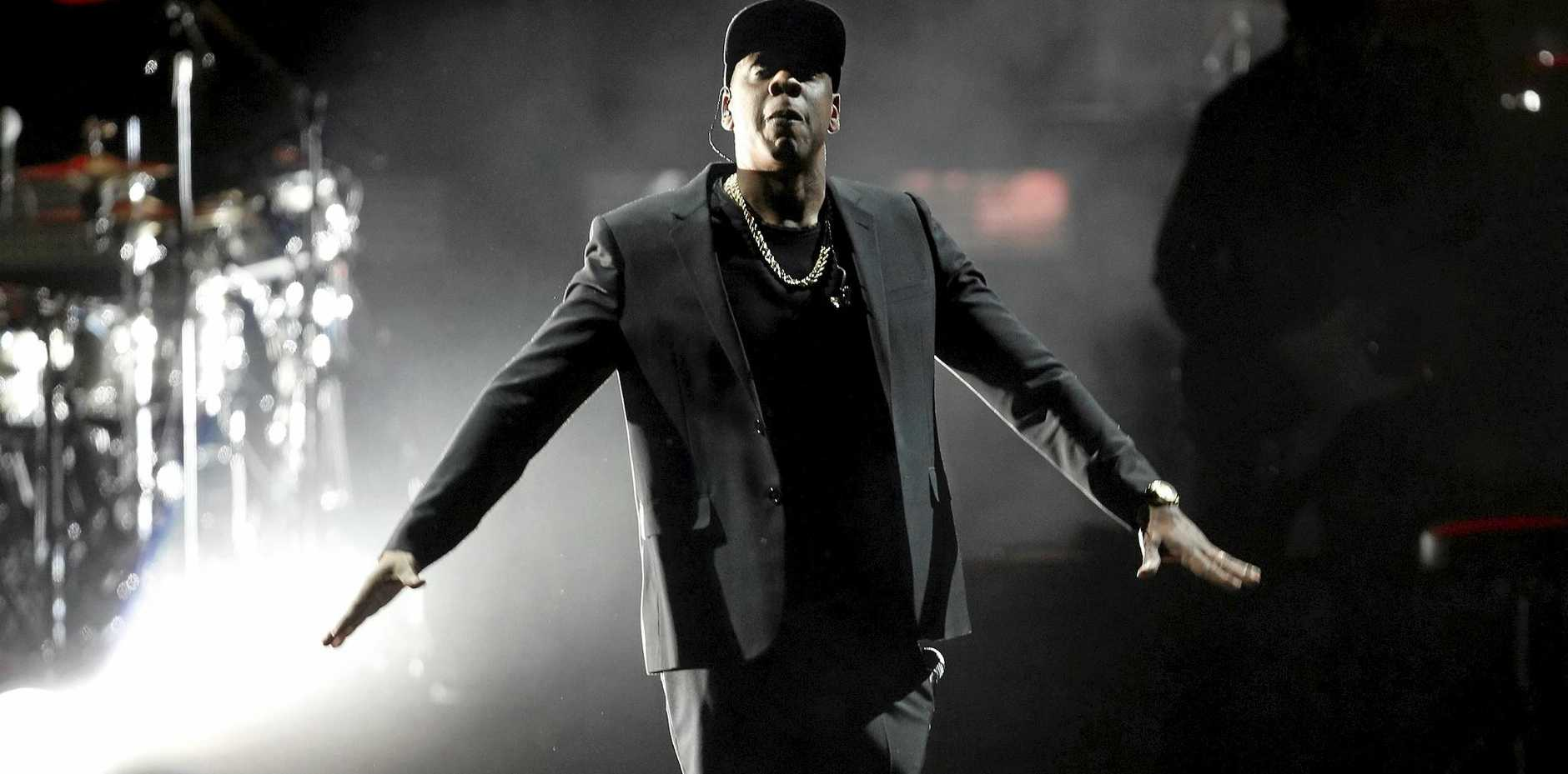 US recording artist Jay Z performs on stage at a campaign event for Democratic presidential candidate Hillary Clinton during the 'Get Out The Vote' concert at the Wolstein Center in Cleveland, Ohio, USA, 04 November 2016. The US presidential election is scheduled for 08 November 2016.  EPA/DAVID MAXWELL