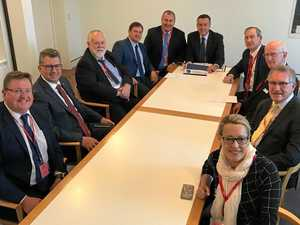 Mayor discusses regional issues in Canberra