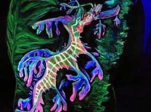 Young Kandanga artist shines at art fest