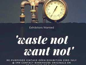 A day to celebrate waste turned into art and useful things