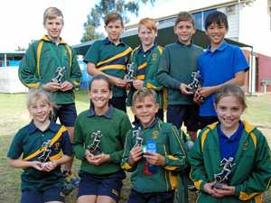 Potter wins two trophies in St Mary's sports
