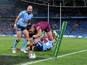 Maroons new boys did their bit in Houdini act