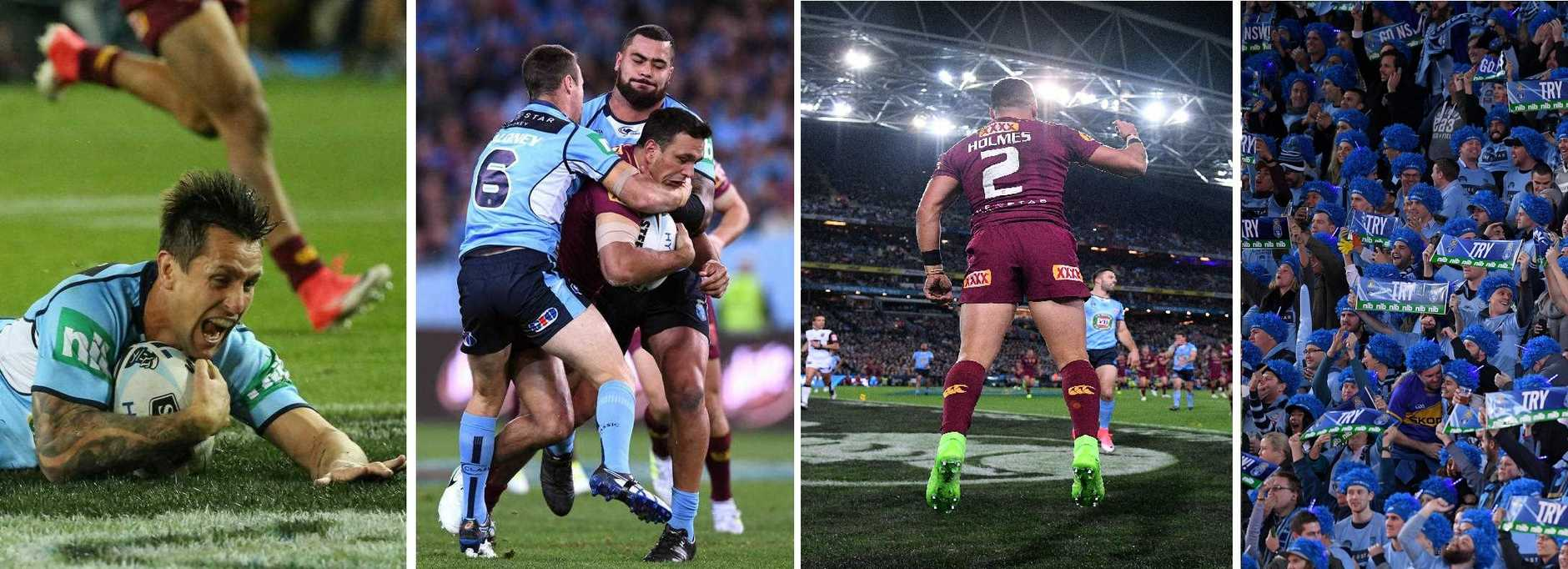 Iconic moments from State of Origin Game Two