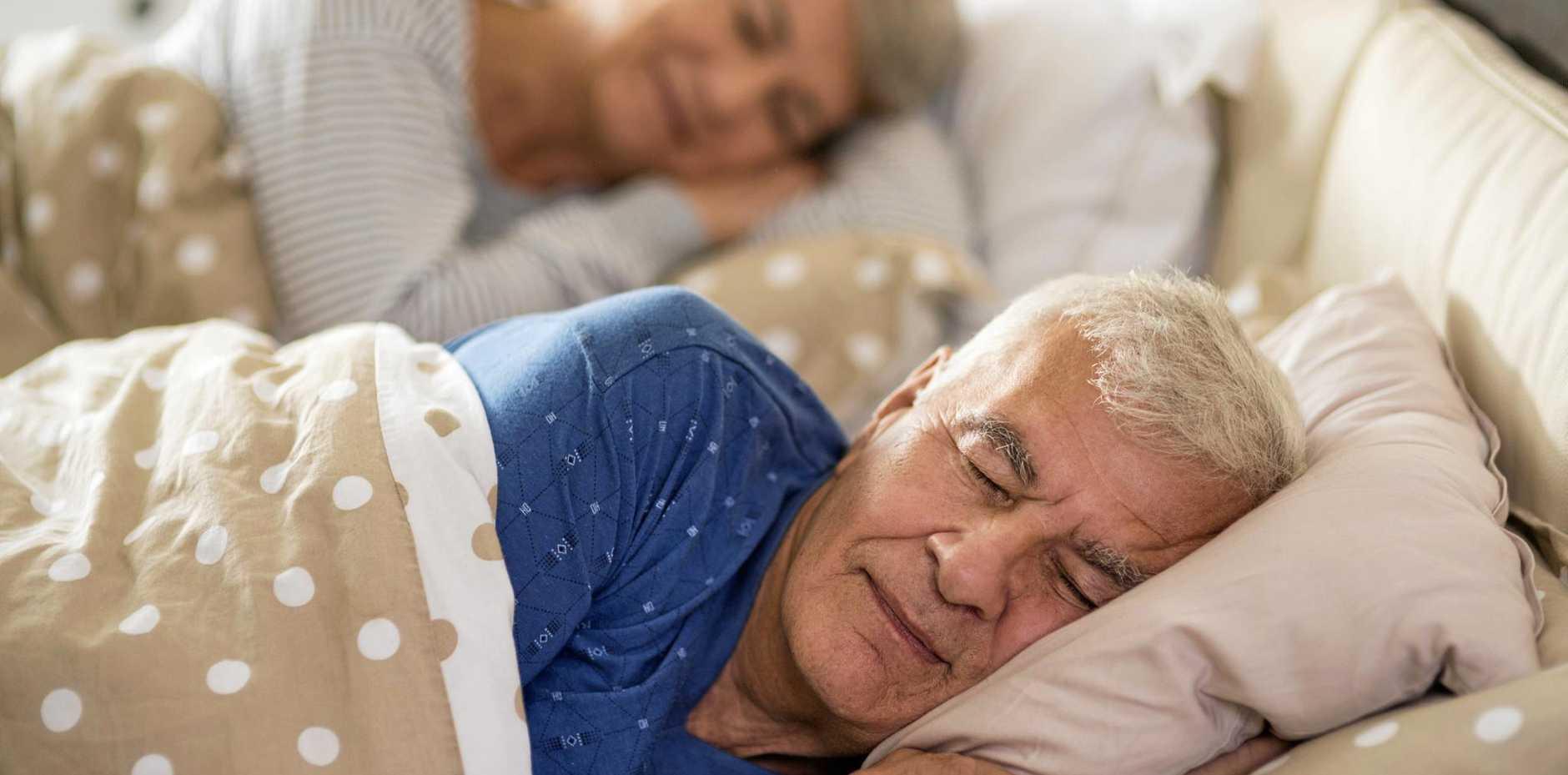 SEEKING SLEEP: Learn how to sleep just a little better each night.