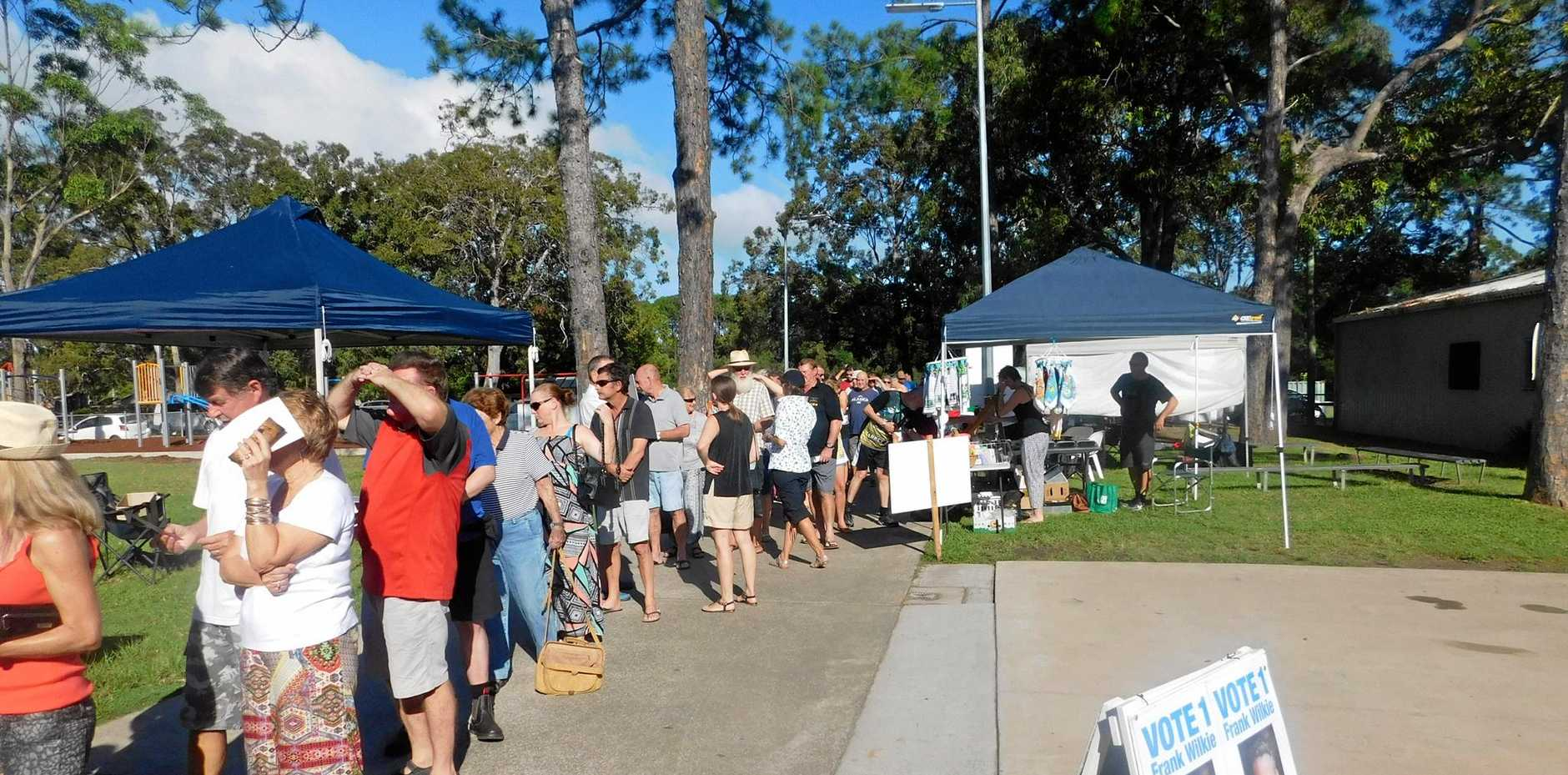 Noosa votes after getting its council back.