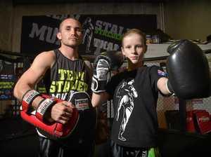 11-year-old Muay Thai star goes international