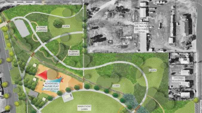 WDRC's masterplan of the Chinchilla Botanical Parklands.