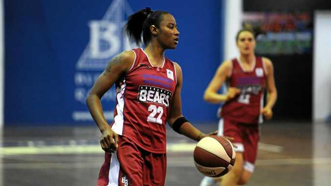 BIG LEAGUE: Former Bundaberg Bear Yvonne Turner now plays for Phoenix in the WNBA.