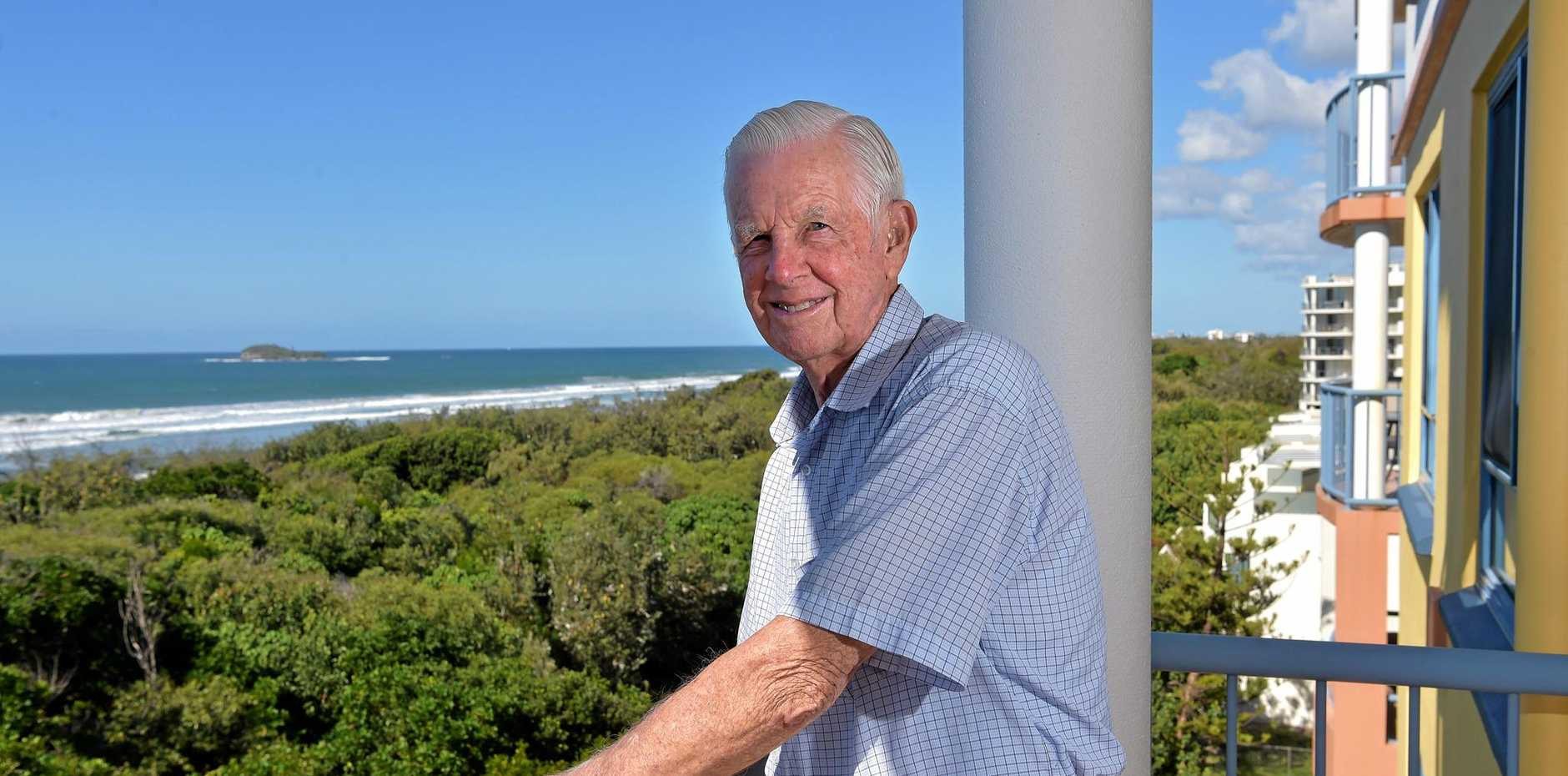 Ken Chadwick is believed to be one of the first white people to spend a night on Old Woman Island when he and a bunch of friends rowed out there and got stranded