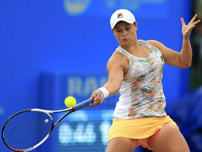 Australia's Ashleigh Barty is through to the quarter-finals at Birmingham.Source:AP