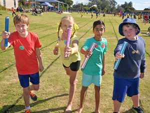 Warwick West athletes have fun at sports carnival