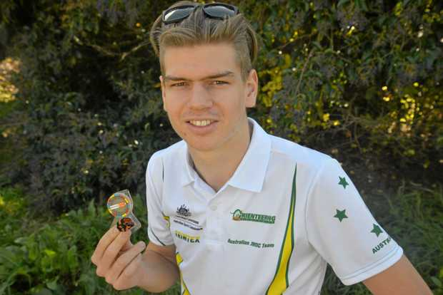 FINLAND BOUND: Simeon Burrill is on the way to the Junior World Orienteering Championships next month in Finland.