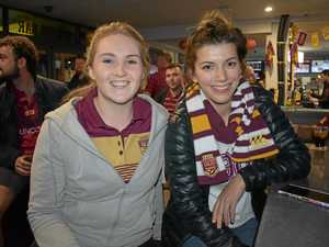 Out and about for State of Origin