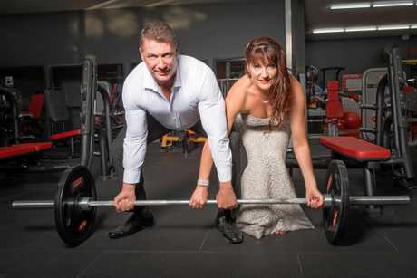 The couple will now have a reliable gym buddy for the rest of their lives.