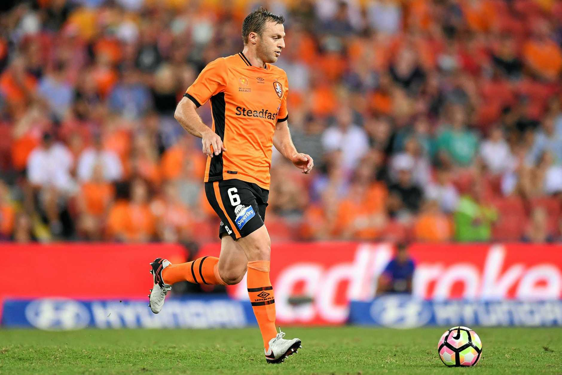 Avram Papadopoulos of the Brisbane Roar.