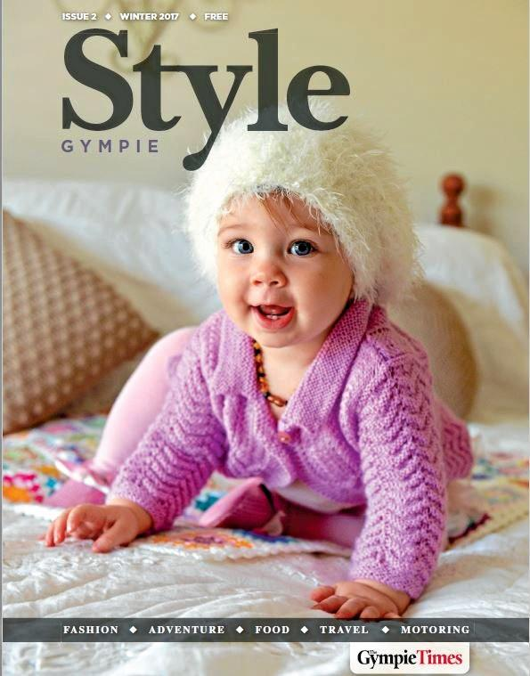 COVER GIRL: Little Mya Lorensen is the cover model in our free Style magazine, inside Saturday's The Gympie Times.