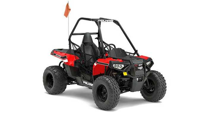 The Polaris Ace 150 quad bike is one of the models affected by a product recall.