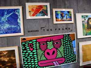 Samsung's The Frame turns television into art
