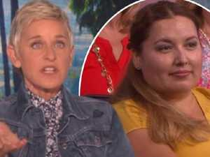 Ellen shames audience member