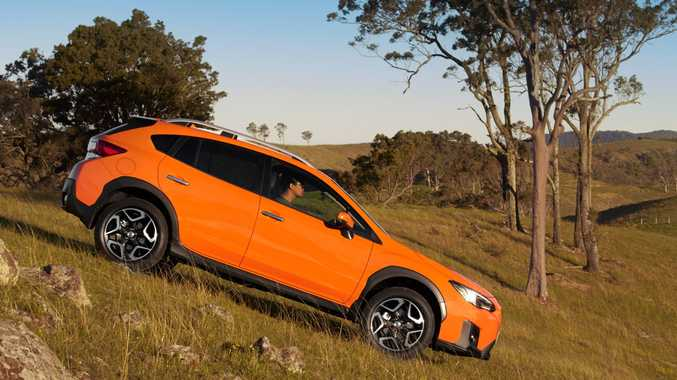 OFF THE BEATEN TRACK: The new MY18 Subaru XV offers a Toyota Prado-matching 220mm of ground clearance plus a smart X-Mode for traction on slippery surfaces. It starts from $27,990 before on-roads.