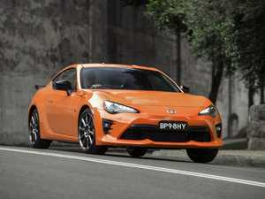 Toyota offers a bright orange 86 special edition track toy