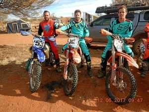 Rocky racers ride into top 20 at Finke Desert Race