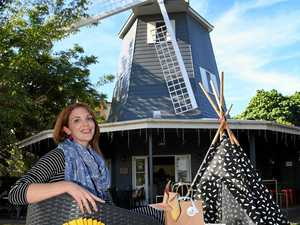 FAMILY FUN: Deonie Crowther is holding family craft sessions at the Windmill Cafe in Bargara.