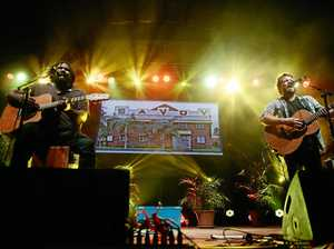 POPULAR ACT: Busby Marou performs in Rockhampton.