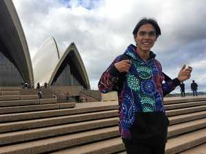 Indigenous mentor teaches his peers to AIME high
