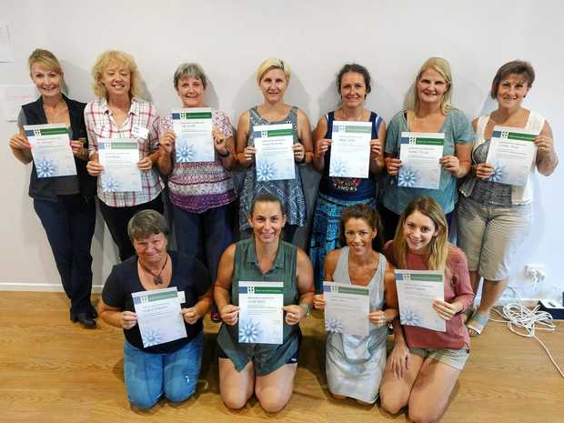 CERTIFIED: Attendees from a previous workshop of Ms Overfield's.