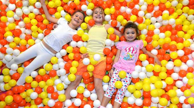 FUN HOUSE: Kids learn through play at Chipmunks Playland and Cafe.