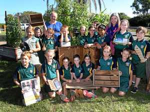 Students' art makes the most of rubbish