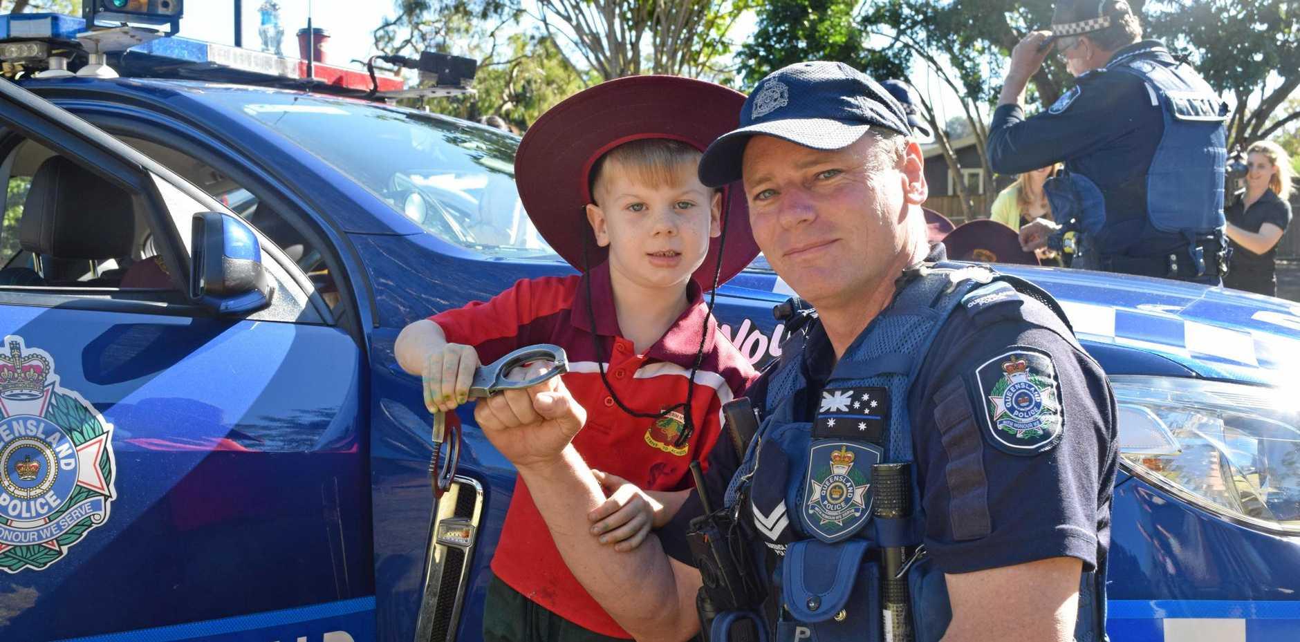 SAFETY FIRST: Senior Constable Darryl