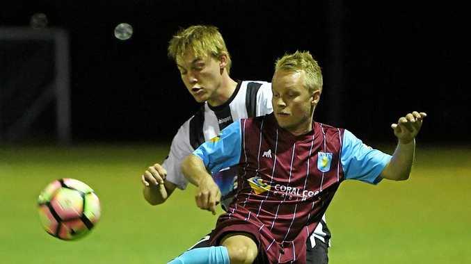FLICK BACK: Brothers Aston Villa's Michael Stayte.
