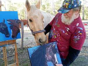 Horse painting classes in Blackbutt