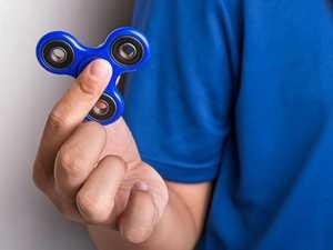 Warning on fidget spinning