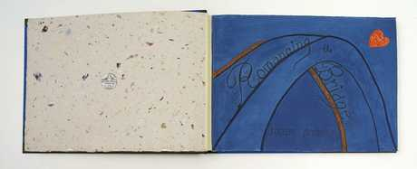 Jocelyn Moloney's artist's book about the Sydney Harbour Bridge.