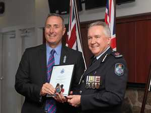 Top police officer dedication honoured