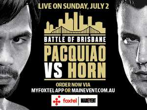 BOUT BONANZA: Win tickets to Horn V Pacquiao ringside