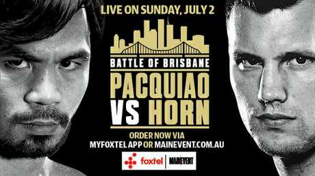Pacquiao says he won't take Horn lightly