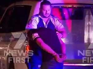 A bikie brawl erupted on the Tweed on Wednesday night.