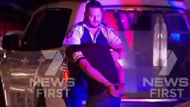 A bikie brawl erupted on the Tweed on Wednesday night.