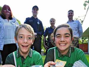 Jones Hill kids helping police legacy scheme